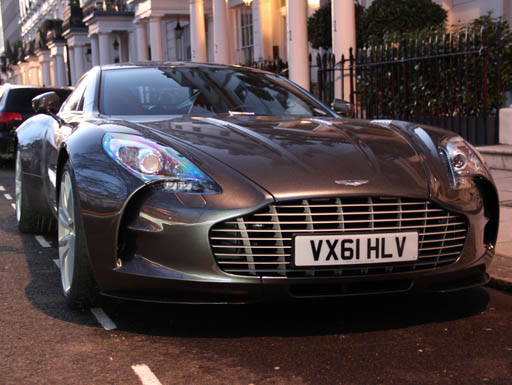 The rare Aston Martin One-77