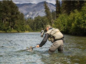 Fly fishing in Canada's wilderness