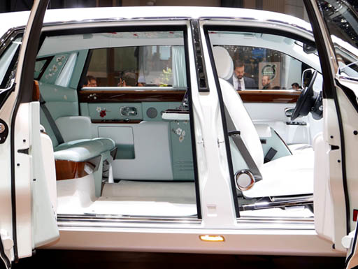 The Rolls-Royce Phantom Serenity luxury car
