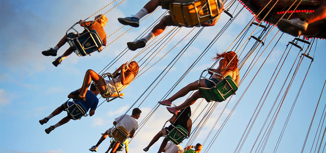 Century Swing ride at an amusement park