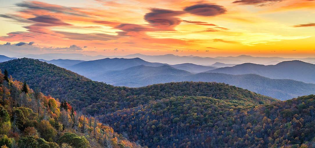 Explore North Carolina S Blue Ridge Mountain Area Hertz
