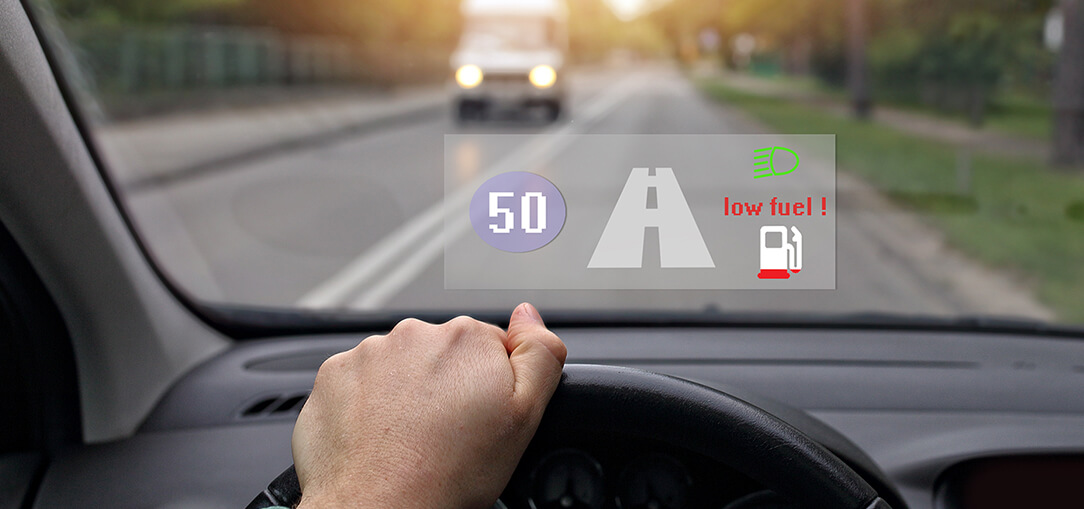Heads Up: New Technology in Displays Makes Driving Safer
