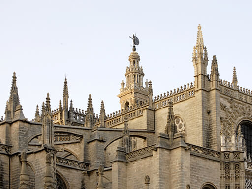 Seville Cathedral Gothic church