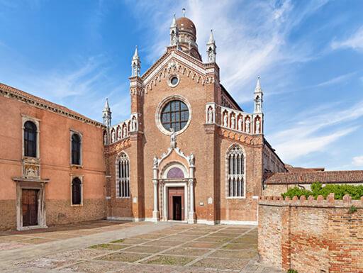 Madonna dell'Orto, a 14th-century church in Venice, Italy